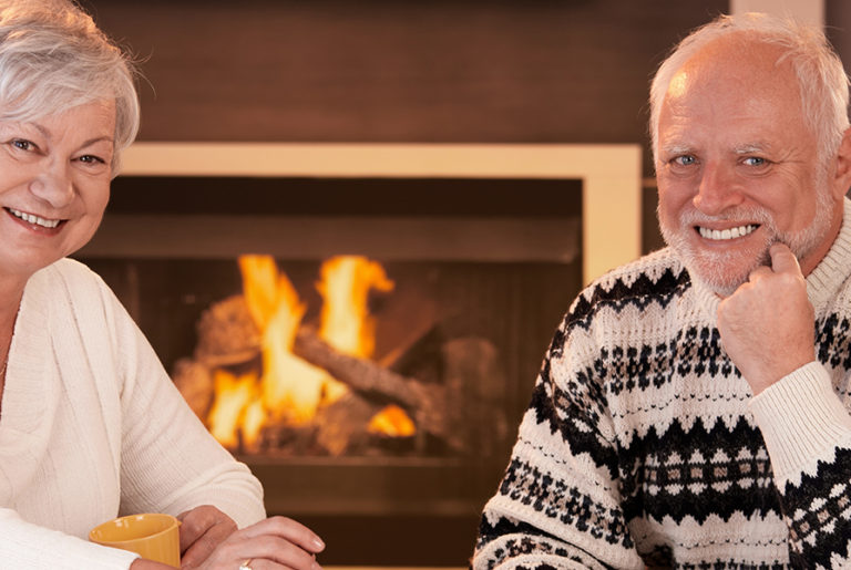 Old and Cold in Winter I Assisted Living Care